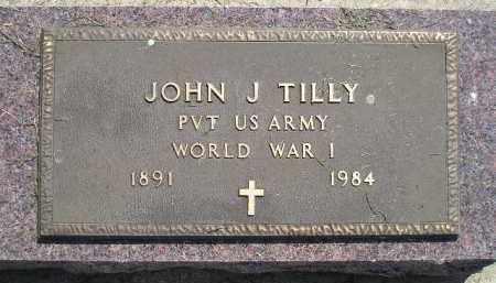 TILLY, JOHN J. - Miner County, South Dakota | JOHN J. TILLY - South Dakota Gravestone Photos