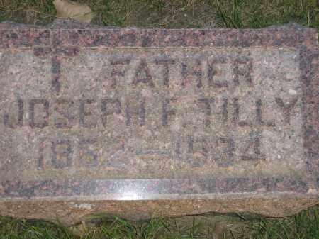 TILLY, JOSEPH F. - Miner County, South Dakota   JOSEPH F. TILLY - South Dakota Gravestone Photos