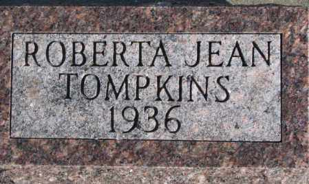 TOMPKINS, ROBERTA JEAN - Miner County, South Dakota | ROBERTA JEAN TOMPKINS - South Dakota Gravestone Photos