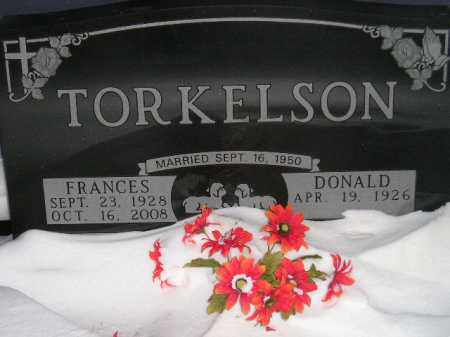 TORKELSON, FRANCES CATHERINE EBBERS - Miner County, South Dakota | FRANCES CATHERINE EBBERS TORKELSON - South Dakota Gravestone Photos