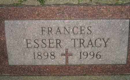 TRACY, FRANCES - Miner County, South Dakota | FRANCES TRACY - South Dakota Gravestone Photos