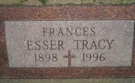 TRACY, FRANCES - Miner County, South Dakota | FRANCES TRACY - South Dakota Gravestone Photos