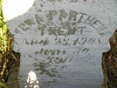 TRENT, VERA PARTHENA - Miner County, South Dakota | VERA PARTHENA TRENT - South Dakota Gravestone Photos