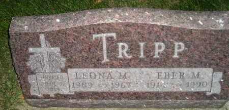 TRIPP, EBER M. - Miner County, South Dakota | EBER M. TRIPP - South Dakota Gravestone Photos