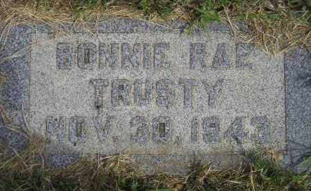 TRUSTY, BONNIE RAE - Miner County, South Dakota | BONNIE RAE TRUSTY - South Dakota Gravestone Photos