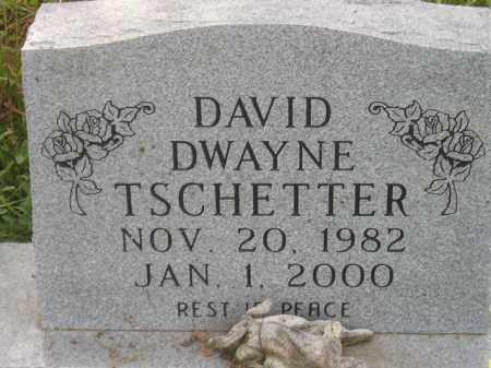 TSCHETTER, DAVID DWAYNE - Miner County, South Dakota | DAVID DWAYNE TSCHETTER - South Dakota Gravestone Photos