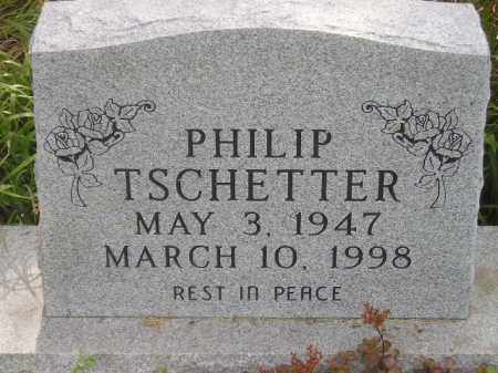 TSCHETTER, PHILIP - Miner County, South Dakota | PHILIP TSCHETTER - South Dakota Gravestone Photos