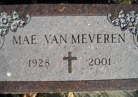 VAN MEVEREN, MAE - Miner County, South Dakota | MAE VAN MEVEREN - South Dakota Gravestone Photos