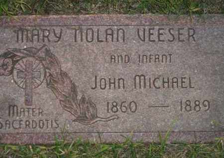 NOLAN VEESER, MARY - Miner County, South Dakota | MARY NOLAN VEESER - South Dakota Gravestone Photos
