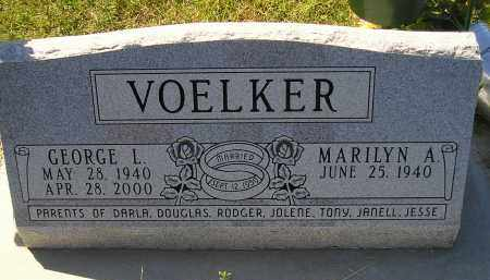 VOELKER, GEORGE L. - Miner County, South Dakota | GEORGE L. VOELKER - South Dakota Gravestone Photos