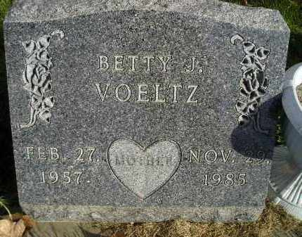 VOELTZ, BETTY J. - Miner County, South Dakota | BETTY J. VOELTZ - South Dakota Gravestone Photos
