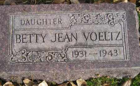 VOELTZ, BETTY JEAN - Miner County, South Dakota | BETTY JEAN VOELTZ - South Dakota Gravestone Photos