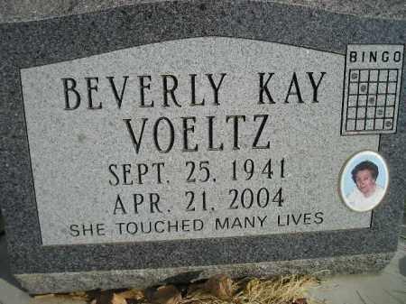 VOELTZ, BEVERLY KAY - Miner County, South Dakota | BEVERLY KAY VOELTZ - South Dakota Gravestone Photos