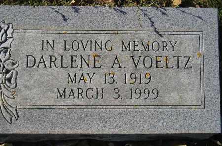 VOELTZ, DARLENE A. - Miner County, South Dakota | DARLENE A. VOELTZ - South Dakota Gravestone Photos