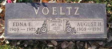 VOELTZ, AUGUST H. - Miner County, South Dakota | AUGUST H. VOELTZ - South Dakota Gravestone Photos