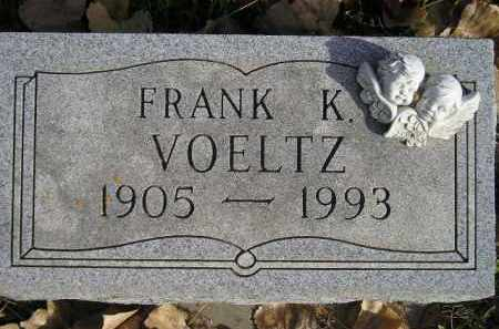 VOELTZ, FRANK K. - Miner County, South Dakota | FRANK K. VOELTZ - South Dakota Gravestone Photos