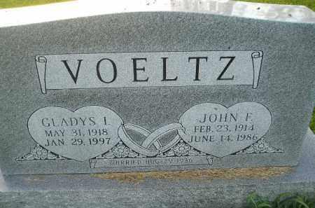 VOELTZ, GLADYS I. - Miner County, South Dakota | GLADYS I. VOELTZ - South Dakota Gravestone Photos