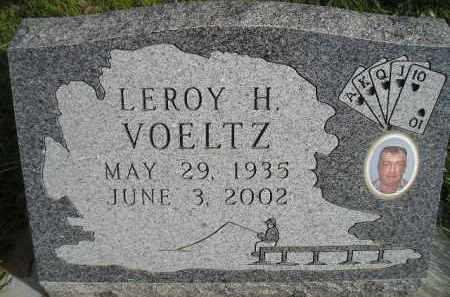 VOELTZ, LEROY H. - Miner County, South Dakota | LEROY H. VOELTZ - South Dakota Gravestone Photos