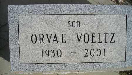 VOELTZ, ORVAL - Miner County, South Dakota | ORVAL VOELTZ - South Dakota Gravestone Photos