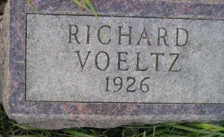VOELTZ, RICHARD - Miner County, South Dakota | RICHARD VOELTZ - South Dakota Gravestone Photos