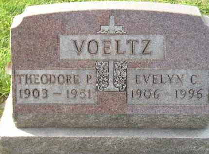 VOELTZ, EVELYN C. - Miner County, South Dakota | EVELYN C. VOELTZ - South Dakota Gravestone Photos