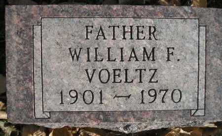 VOELTZ, WILLIAM F. - Miner County, South Dakota | WILLIAM F. VOELTZ - South Dakota Gravestone Photos