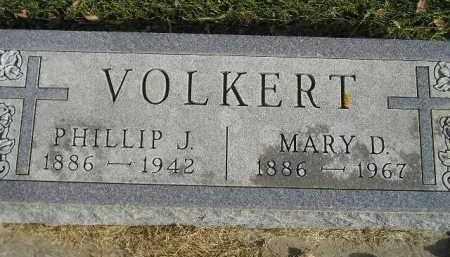 VOLKERT, MARY D. - Miner County, South Dakota | MARY D. VOLKERT - South Dakota Gravestone Photos