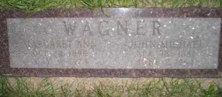 WAGNER, MARGARET ANN - Miner County, South Dakota   MARGARET ANN WAGNER - South Dakota Gravestone Photos