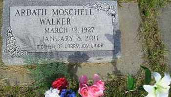 MOSCHELL WALKER, ARDATH - Miner County, South Dakota | ARDATH MOSCHELL WALKER - South Dakota Gravestone Photos