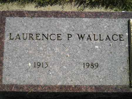 WALLACE, LAURENCE P. - Miner County, South Dakota | LAURENCE P. WALLACE - South Dakota Gravestone Photos