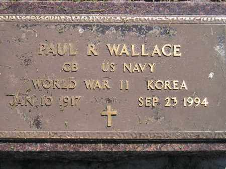 WALLACE, PAUL R. (MILITARY) - Miner County, South Dakota | PAUL R. (MILITARY) WALLACE - South Dakota Gravestone Photos