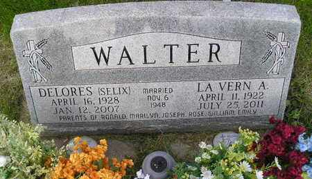 WALTER, DELORES - Miner County, South Dakota | DELORES WALTER - South Dakota Gravestone Photos