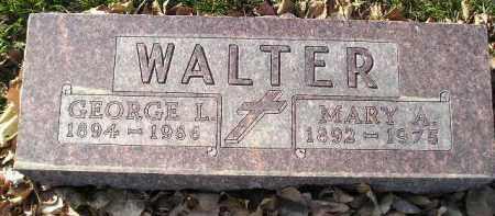 WALTER, GEORGE L. - Miner County, South Dakota | GEORGE L. WALTER - South Dakota Gravestone Photos