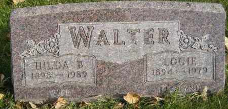 WALTER, LOUIE - Miner County, South Dakota | LOUIE WALTER - South Dakota Gravestone Photos