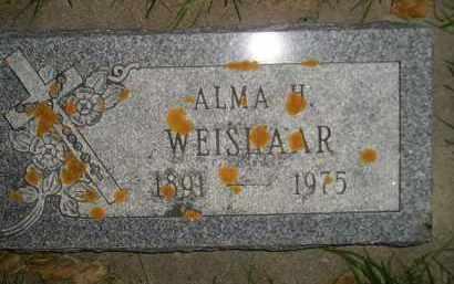 WEISHAAR, ALMA H. - Miner County, South Dakota | ALMA H. WEISHAAR - South Dakota Gravestone Photos