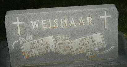 WEISHAAR, LUCY M. - Miner County, South Dakota | LUCY M. WEISHAAR - South Dakota Gravestone Photos