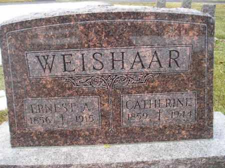 WEISHAAR, ERNEST A. - Miner County, South Dakota | ERNEST A. WEISHAAR - South Dakota Gravestone Photos