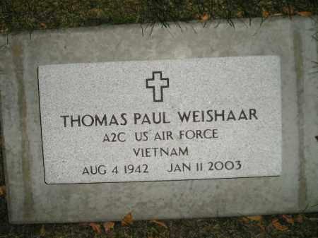 WEISHAAR, THOMAS PAUL - Miner County, South Dakota | THOMAS PAUL WEISHAAR - South Dakota Gravestone Photos