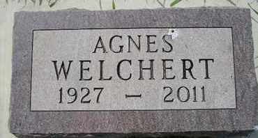WELCHERT, AGNES - Miner County, South Dakota | AGNES WELCHERT - South Dakota Gravestone Photos