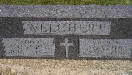 WELCHERT, AGATHA - Miner County, South Dakota | AGATHA WELCHERT - South Dakota Gravestone Photos