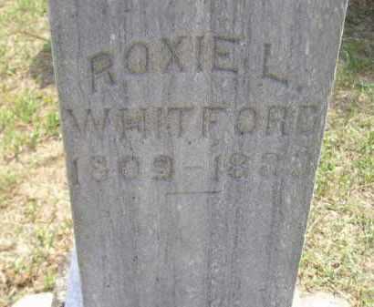 WHITFORD, ROXIE L. - Miner County, South Dakota | ROXIE L. WHITFORD - South Dakota Gravestone Photos