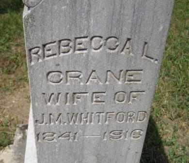 WHITFORD, REBECCA L. - Miner County, South Dakota | REBECCA L. WHITFORD - South Dakota Gravestone Photos