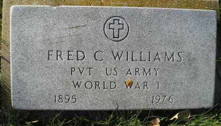 WILLIAMS, FRED C. (WW I) - Miner County, South Dakota | FRED C. (WW I) WILLIAMS - South Dakota Gravestone Photos