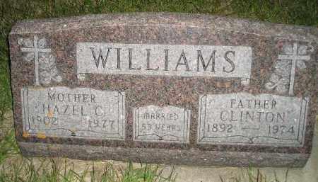 WILLIAMS, CLINTON - Miner County, South Dakota | CLINTON WILLIAMS - South Dakota Gravestone Photos