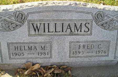 WILLIAMS, FRED C. - Miner County, South Dakota | FRED C. WILLIAMS - South Dakota Gravestone Photos