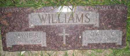 WILLIAMS, OWEN C. - Miner County, South Dakota | OWEN C. WILLIAMS - South Dakota Gravestone Photos
