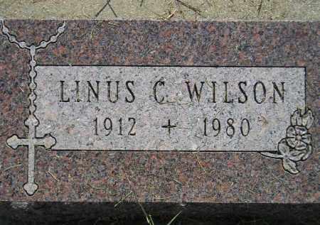 WILSON, LINUS C. - Miner County, South Dakota | LINUS C. WILSON - South Dakota Gravestone Photos