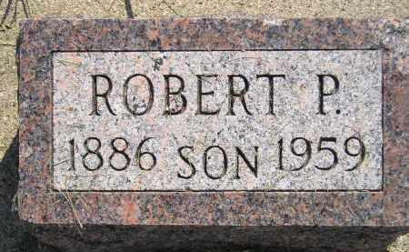 WILSON, ROBERT P. - Miner County, South Dakota | ROBERT P. WILSON - South Dakota Gravestone Photos