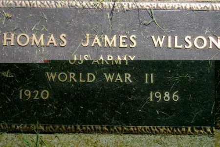 WILSON, THOMAS JAMES (WW II) - Miner County, South Dakota | THOMAS JAMES (WW II) WILSON - South Dakota Gravestone Photos