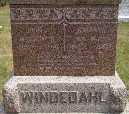 WINDEDAHL, JOHN A. - Miner County, South Dakota | JOHN A. WINDEDAHL - South Dakota Gravestone Photos